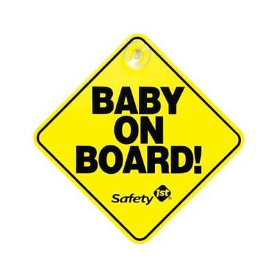 "Safety 1St/Dorel 48918 Yellow ""Baby On Board"" Sign - Quantity 1"
