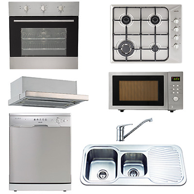Kitchen - appliance packages -Euro Appliance Pack EU01 -7 Piece