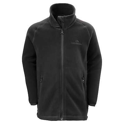 Kathmandu Jacamar Kids Boys Girls Full Zip Warm Quick Dry Fleece Jacket v2 Black