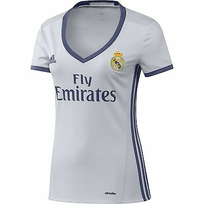 adidas REAL H JSY W - 1st Football kit T-Shirt for of del Real Madrid CF ... New