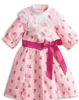 """American Girl 18"""" Doll Samantha Dress ONLY from Flower Picking Set NEW"""