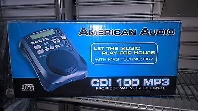 Coppia di  Cdj mod.Cdi-100 Mp3   American Audio