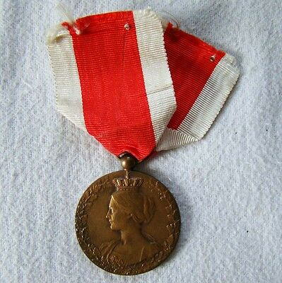 Belgien - Medaille 1914 - 1918 - am Band - dekorativ - Art. 6634