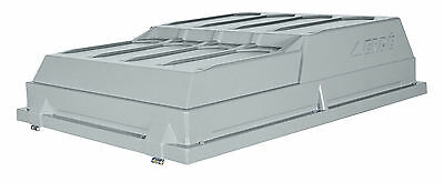 Lockable ABS Hard Top Cover For MP6812, ERDE 122, Daxara 127 Trailer - CP120