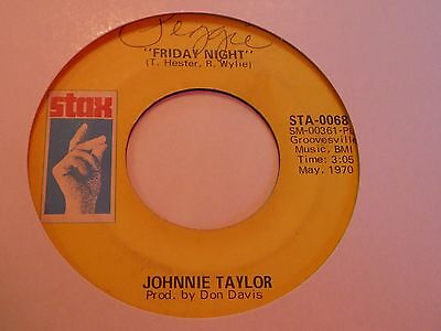 Johnnie Taylor - Friday Night - Stax - Northern Soul - MP3