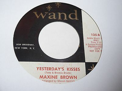 Maxine Brown - Yesterday's Kisses - Wand - Northern Soul - MP3