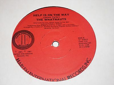 Whatnauts - Help Is On The Way - Harlem Int - Modern Soul - MP3