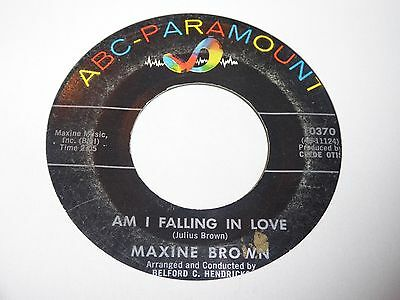 Maxine Brown - Am I Falling In Love - ABC - Northern Soul - MP3