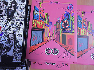 EXID - STREET (Normal sale) , Whoz That Girl ,HOT PINK ,Only One (Promo album)