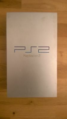 Sony PS2 FAT original PS 2 Konsole silber silver gebraucht Playstation 2 console