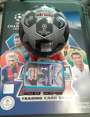Match Attax Champions League 2016/2017 Ball Tin 54 Cards with Limited Edition