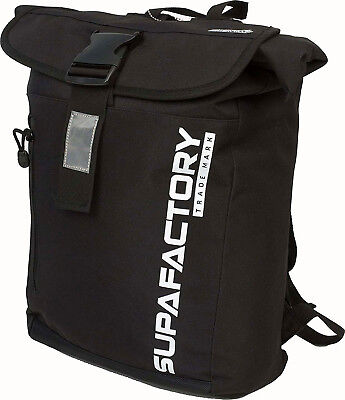 Supafactory Ruck Sack BackPack Waterproof Motorbike Motorcycle Hiking Biking