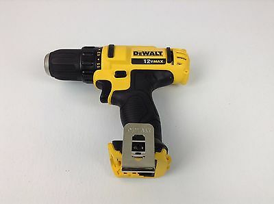 New Dewalt DCD710 Max 12V Lithium-Ion 3/8 in. Cordless Drill/driver (Tool-Only)