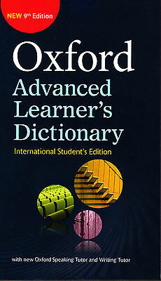 OXFORD ADVANCED LEARNER'S DICTIONARY 9th Internation Student's Edit 2015 Pb @NEW