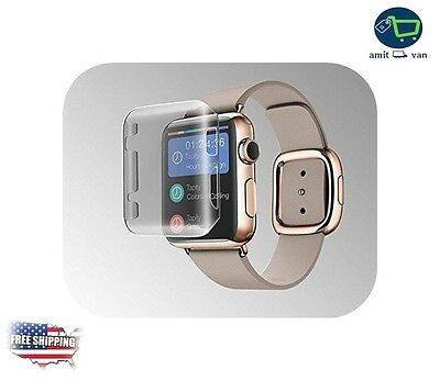 SMOKE CLEAR COVER Screen Protector Film For iWatch 42MM APPLE WATCH 1