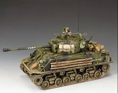 KING AND COUNTRY FURY SHERMAN TANK D Day WW2 DD279