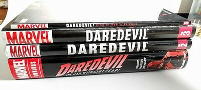 Daredevil Brian Bendis ENTIRE RUN OMNIBUS vol 2 LOT MARVEL hardcover vol 2, 3