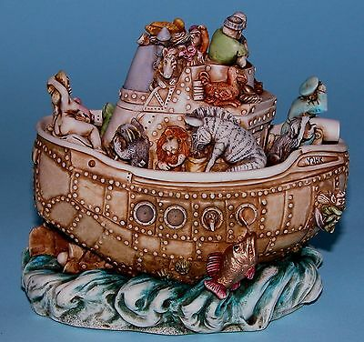 "Harmony Kingdom box TJSEY2K ""Y2HK"" Timed ed.1999 NIB sailors ship boat, Ricketts"
