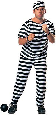 Prisoner Criminal Outlaw Halloween Jail Convict Adult - free shipping