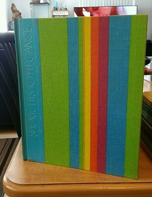 Vintage The Art of Sewing Hardcover Book Time Life Shortcuts to Elegance