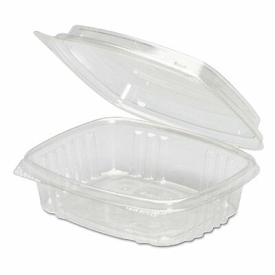 Genpak AD08F Clear Hinged Deli Container 8 oz Qty of 200 (Open Box)