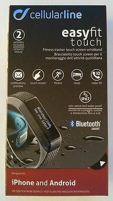 Cellularline Braccialetto Fitness Touch Screen Bluetooth