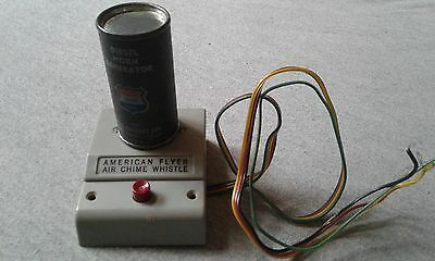 American Flyer Air Chime Whistle Control Button & Generator