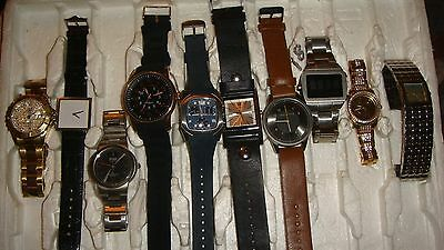 Trade Only Job Lot Of 10 X Mixed Names Watches 100% Gen...