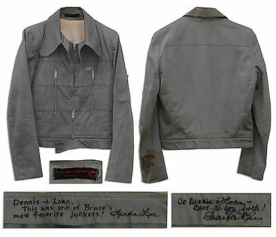 Bruce Lee Grey Cotton Jacket With a COA From His Wife