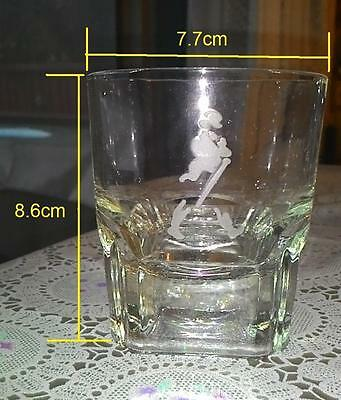 Johnnie Walker whisky - GLASS #D