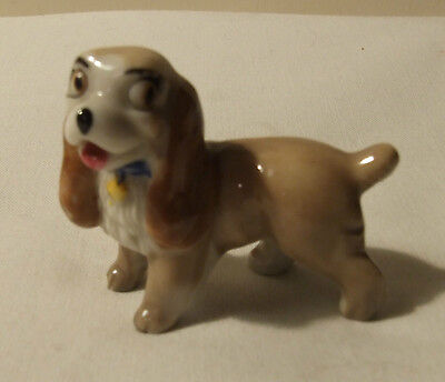 WADE PORCELAIN LADY & THE TRAMP HAT BOX SERIES 1950's LADY