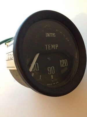 CLASSIC SMITHS WATER TEMP TEMPERATURE GAUGE USED PART Upto 120c MINI KIT #220