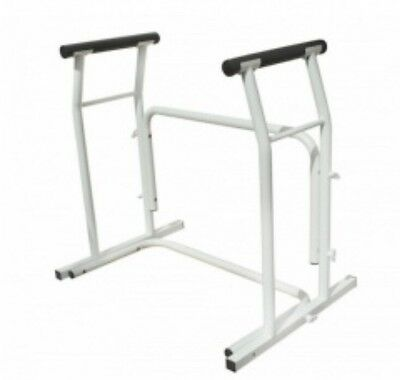 ACTIVE LIVING Mobility Aid - STURDY Lightweight, Freestanding Toilet Frame