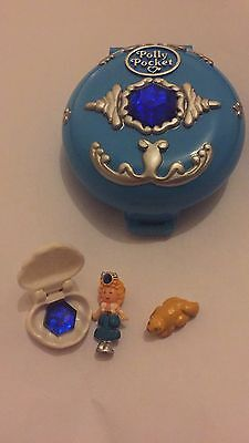 Vintage 1992 Polly Pocket Jewelled Sea Compact 100% Complete VGC Bluebird