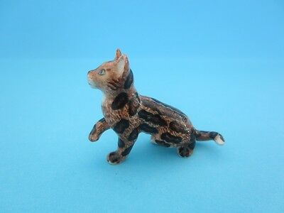 "LITTLE CRITTERZ CAT ""SPIRIT"" MARBLE BENGAL KITTEN WITH BOX *Mint Condition*"