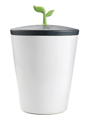 Chef'n EcoCrock Counter Compost Bin, Trash Recycling / Odor Absorb Food Scraps