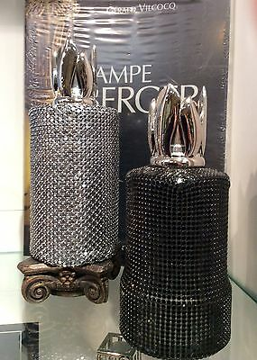 Lampe Berger Air Pure System MAILLE Verre Glass Lamp From France * YOUR CHOICE *