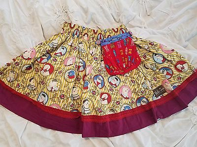 GIRLS Matilda Jane Paint by Number skirt Size 8