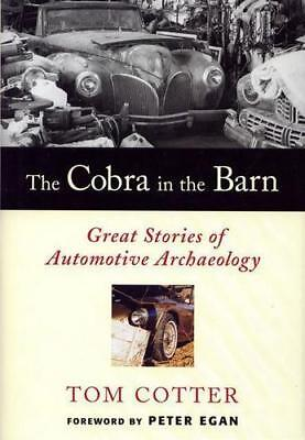 "The Cobra in the Barn BOOK ""HARDCOVER !!!!"""