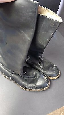 WWII French Officer Leather Boots