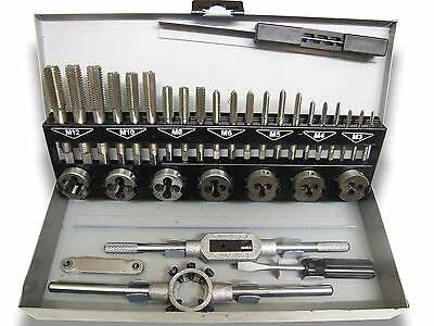 32 Piece HSS Metric Finishing Tap and Die Set
