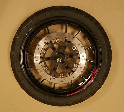 Yamaha Yzf R125 / Mt 125 2014-2016 Front Wheel Rim Tyre Brake Disc Spindle Abs
