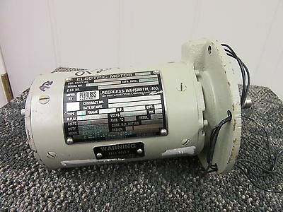Peerless Winsmith Electric Servo Motor A.c.1200 Rpm 1.55 A M-3330 Military New