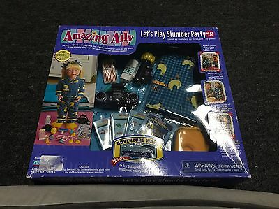 Amazing Ally Talking Doll Slumber Party Play Set Outfit With Accessories NIB