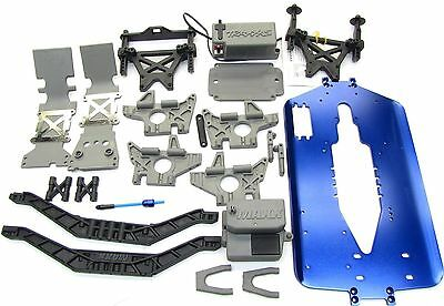 T-Maxx 3.3 Chassis 5197R 5122X -Length upgrade,bulkhead,Towers,4907 Traxxas