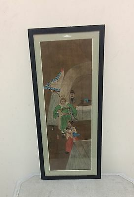 Early 19th Century  Chinese Water Colour-c.Early 1800s