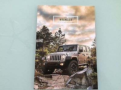 2015 Jeep Wrangler Sales Brochure