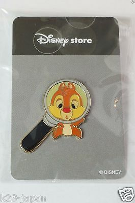 Disney Store JAPAN Pin Magnifying Glass Dale JDS