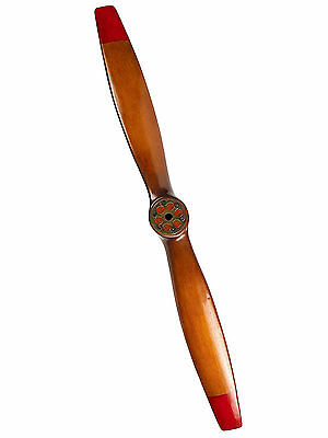 "WWI Wooden Airplane Propeller 47"" Decorative Vintage Aviation Decor New"