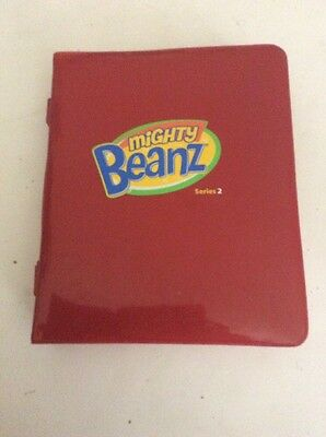 Mighty Beanz Series 2 Collectors Case Lot With 63 Beanz 2010/2011